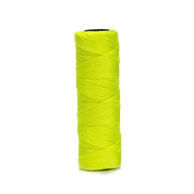 EZC TWISTED NEON NYLON LINE - 500' NEON YELLOW