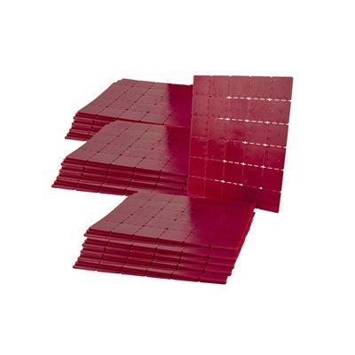 "MASONRY SHIMS - PLASTIC - 2"" x 2"" x 1/8"" 1000/PKG"