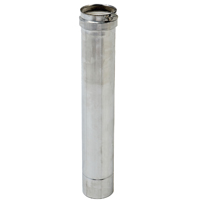 3IN X 2FT SS VENT PIPE