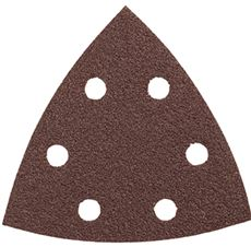 BOSCH DETAIL SANDER ABRASIVE TRIANGLES FOR WOOD, 60 GRIT, 3-1/2 IN., 5 PACK