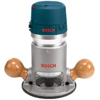 Bosch 1617EVS Electronic Fixed Base Corded Router, 120 VAC, 12 A, 2.25 hp, 8000 - 25000 rpm