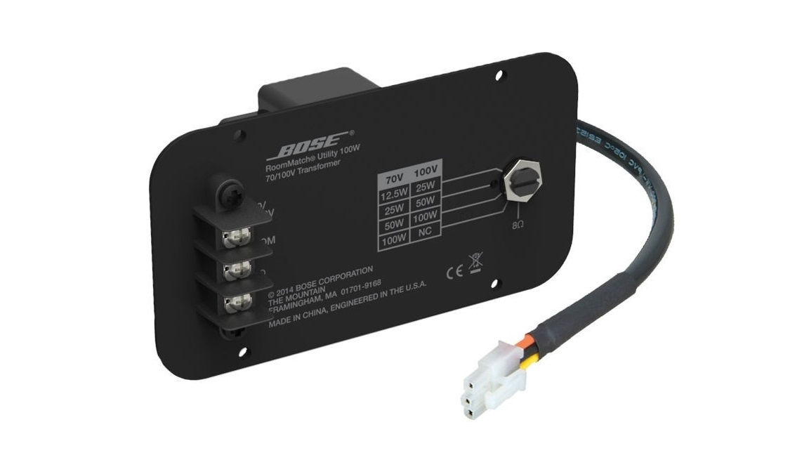 Bose Professional RMUXF40/RMUXF100 70V/100V Transformer For Loudspeakers 720367-0010