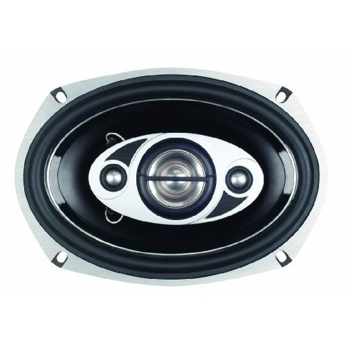 """BOSS AUDIO P69.4C Phantom Series Speakers with Electroplate-Injection Cones (6"""" x 9"""")"""