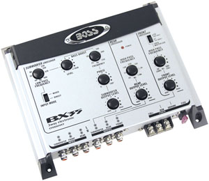 Boss Audio Systems BX35 3-Way Preamp Electronic Crossover