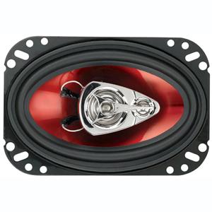 "BOSS AUDIO CH4630 Chaos Exxtreme Series Full-Range Speakers (4"" x 6"", 250 Watts, 3 Way)"