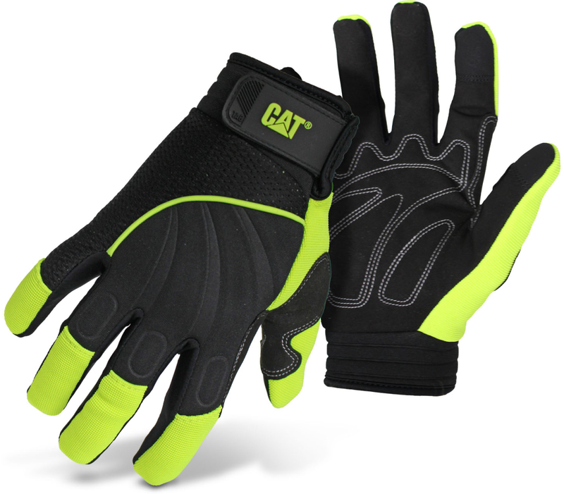 CAT012224M MED SYN PALM GLOVE