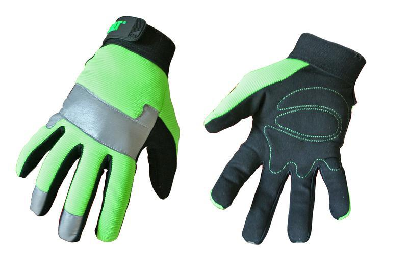 CAT012214L LG HIGH VIS GLOVE