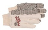 5501 PLASTIC DOT COTTON WORK GLOVE