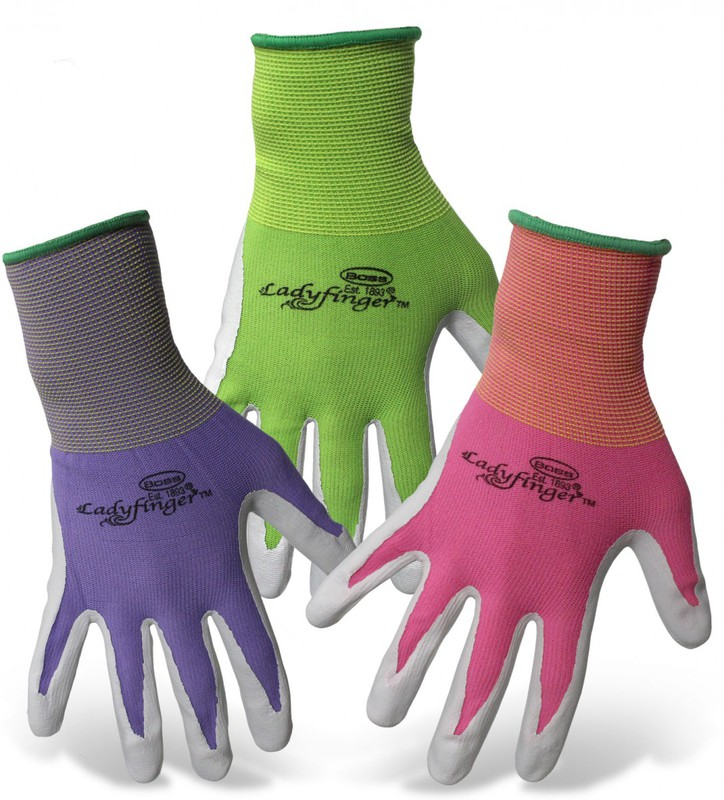 8438S LADIES NITRL PALM GLOVES