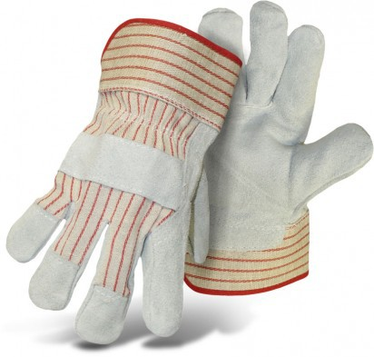 4092-3 3PK LEATH PALM GLOVES
