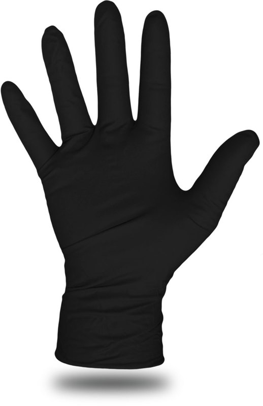 1UH0006BM MED 100CT NITR GLOVE