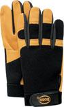 Lg Gold Mechanics Goatskin Glove