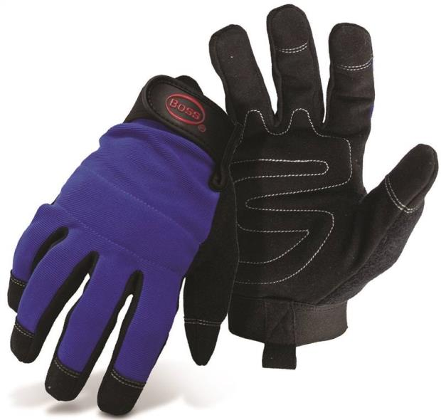 5205M MED LEATHER PALM GLOVE