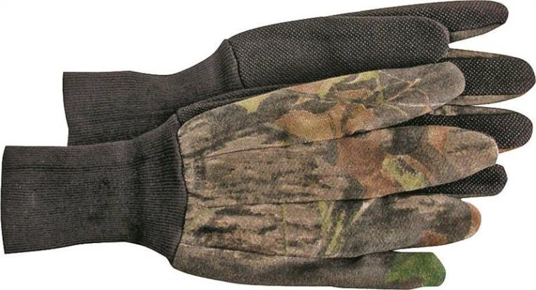 GLOVE JERSEY OAK CAMO LARGE