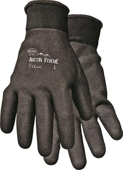 Arctik Xtreme 7841X Protective Gloves, Men's/X-Large, Nylon Shell, Black, Terry Lining