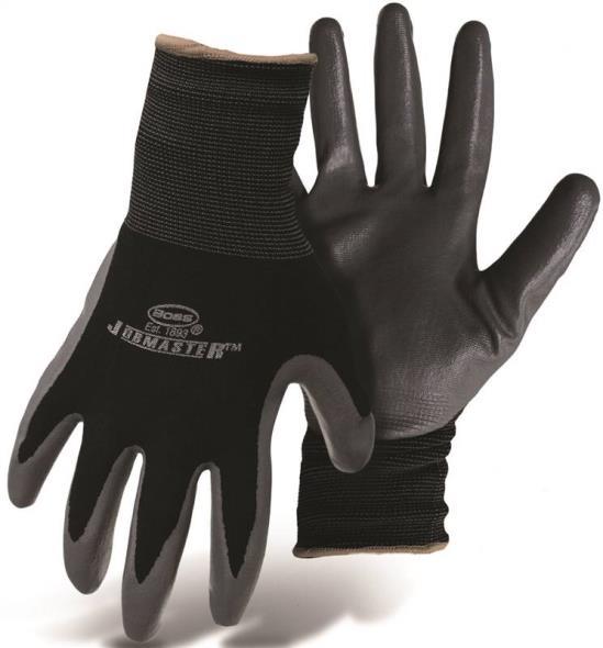 Boss 8442M Gloves, Men's, Medium, Nylon, Black