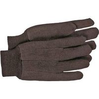 Boss 403L General Purpose Classic Protective Gloves, Mens/Large, Jersey, Brown
