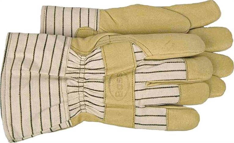 Boss 4399X Driver Gloves, X-Large, Cotton Back, Tan, Polyester Lining