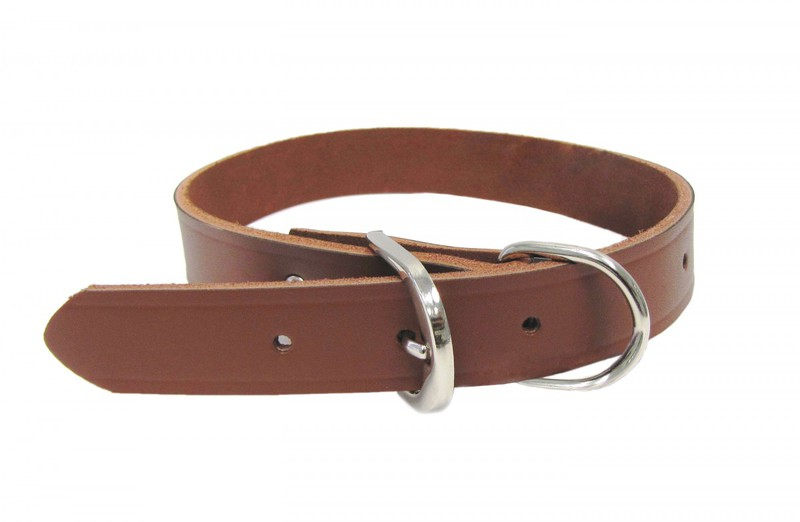 30023 1X23 IN. LEATHER DOG COLLAR