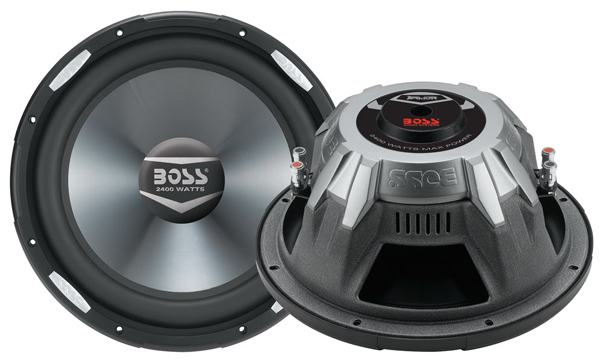 BOSS AR12D ARMOR CAR SUBWOOFER 2400 WATTS 12 INCH DUAL 4 OHM