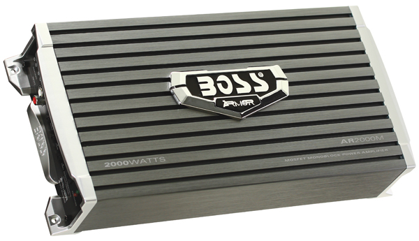 BOSS AR2000M BLACK AMPLIFIER 2000WATT MONOBLOCK MOSFET POWER