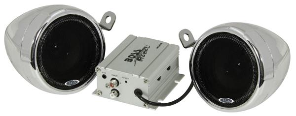 BOSS MC400 MOTORCYCLE SPEAKER AMPLIFIER SYSTEM 3INCH 600 WAT