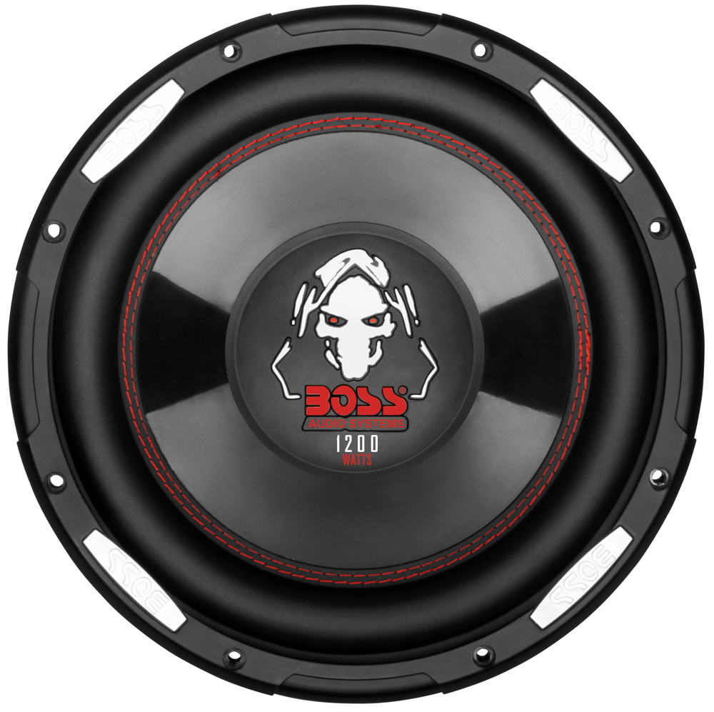 BOSS P100F BLACK PHANTOM 10 INCH LOW PROFILE SUBWOOFER