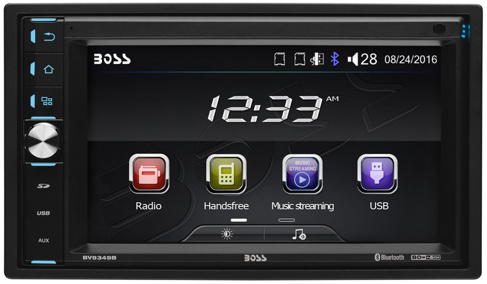 BOSS BV9349B CAR DOUBLE DIN MULTIMEDIA PLAYER 6.2INCH TOUCH