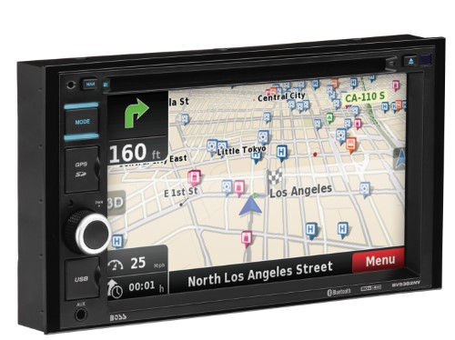 BOSS AUDIO BV9382NV TOUCHSCREEN 6.5IN NAVIGATION RECEIVER