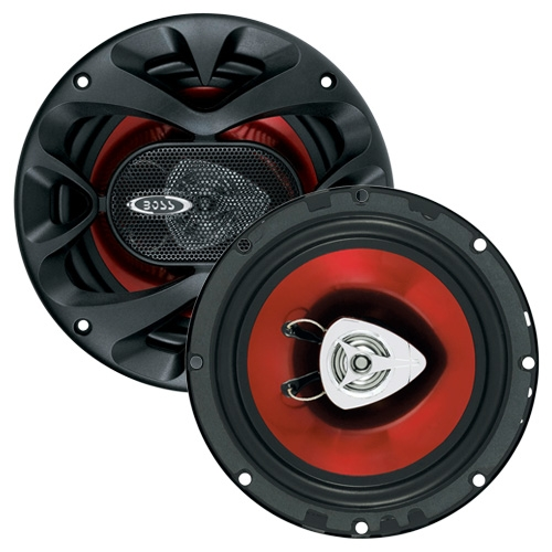 "Boss 6.5"" Speaker 2-Way red poly injection cone"