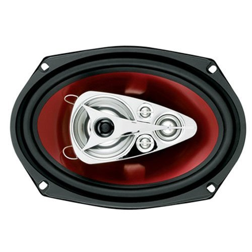 Boss 6x9 Speaker 5-Way red poly injection cone
