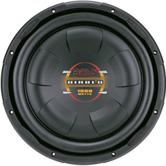 "Boss 10"" Shallow Mount Woofer 800W Max 4 Ohm SVC"