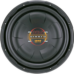"""Boss 12"""" Shallow Mount Woofer 1000W Max 4 Ohm SVC"""