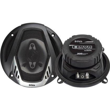"""Boss Onyx 5.25"""" 4-Way Speaker 300W Max"""