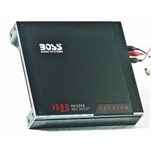 Boss Mono Block Amplifier 1500W Max mosfet Phantom Series