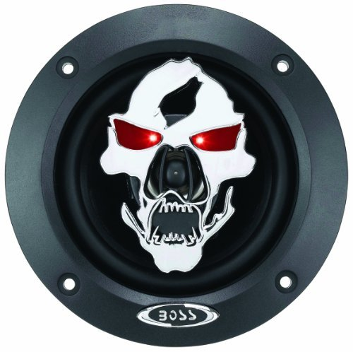 "Boss Phantom Skull 4"" 2-Way Speaker 250W Max"