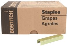 BOSTITCH� 16 GAUGE S2 GALVANIZED CROWN/FLASH STAPLES, 1/2 IN., 10,000 PER PACK