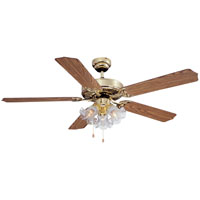 52In Pb Dual-Mount 3Cl Ceiling Fan