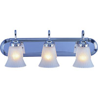 3 Light Chrome Vanity Fixture