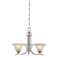 Boston Harbor 1571-3C Chandelier, 60 W, Medium , Base, 3 Lamp