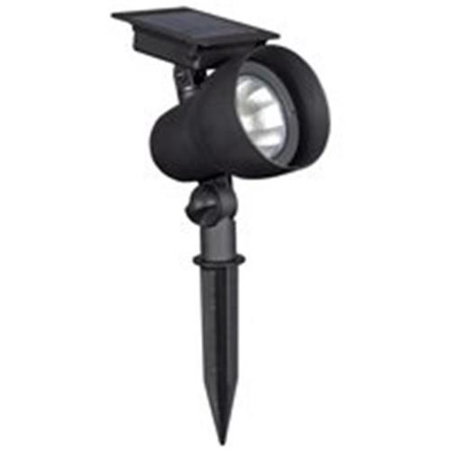 Solar Floodlight Black 30Lumen