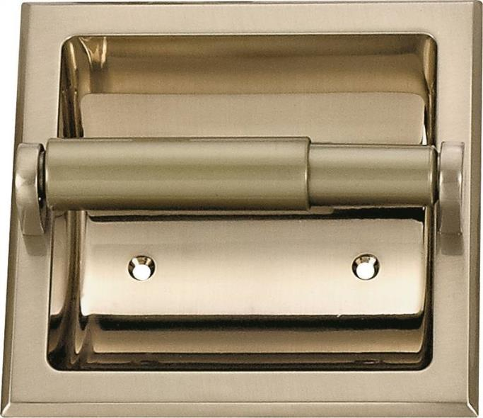 TOILET PAPER HOLDER BR NICKEL