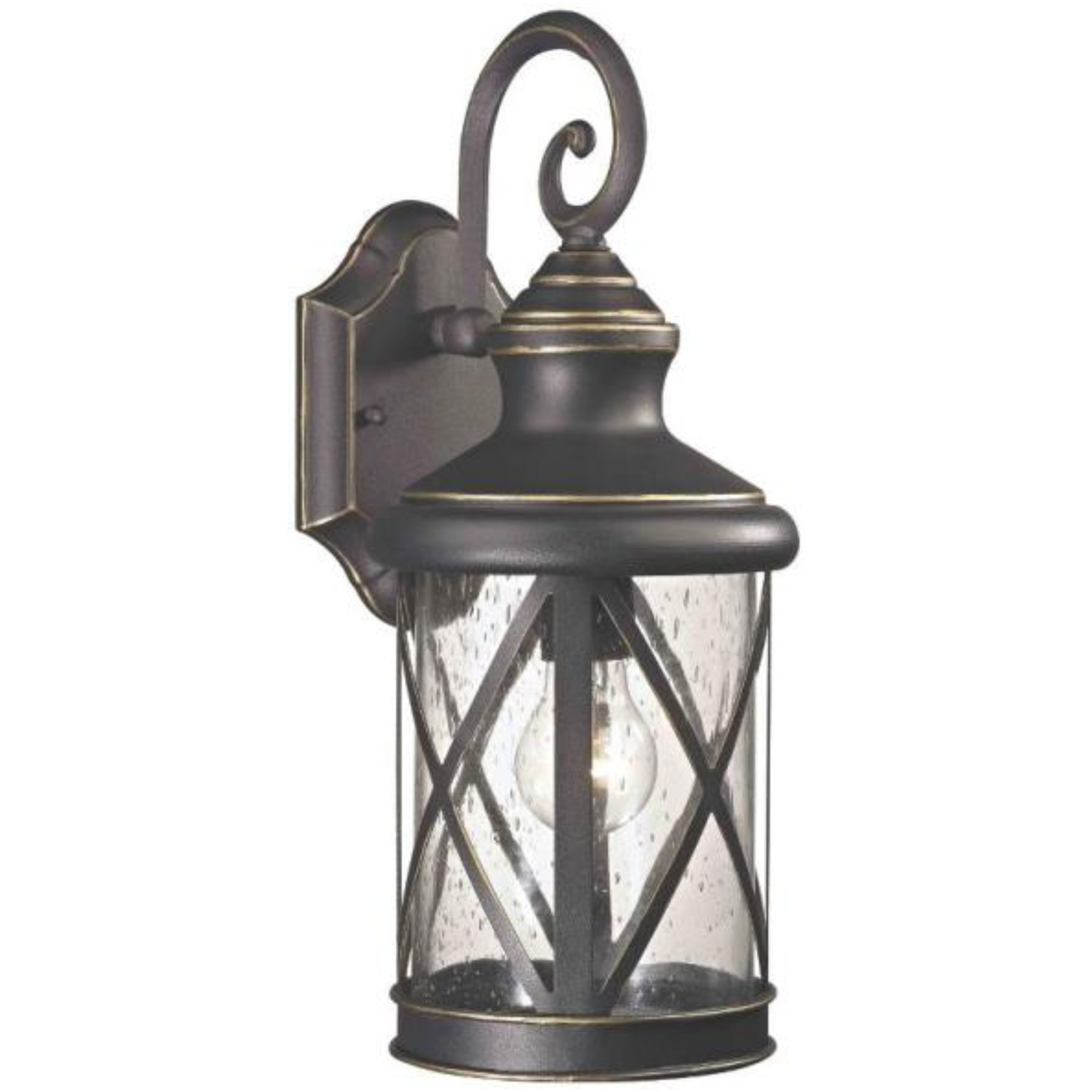 LANTERN OUTDR WALL ORB 1 LIGHT