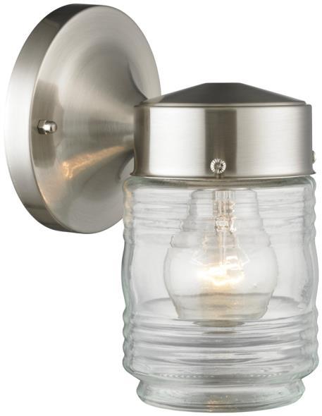 Boston Harbor 4402H-BN Outdoor Lighting, Medium, 60 W, 1 Lamp