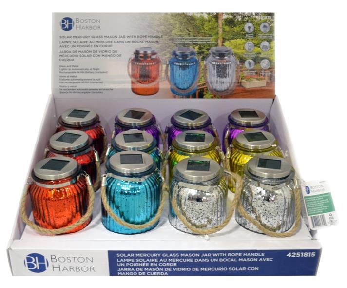 LIGHT GLASS SLR M-JAR W/RP HDL