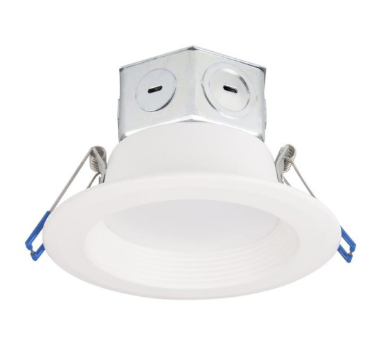 LIGHT RCSD LED ALUM WWHT 4IN
