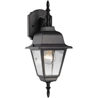 Boston Harbor DG-L01BL Outdoor Lantern, CFL, A19, 13 W, 1 Lamp