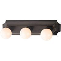 Boston Harbor 045233-VB Vanity Bar Fixture, Type G, 100 W, 3 Light