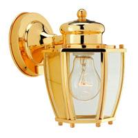 Boston Harbor HV-66961-PB Lantern Porch Light Fixture, Medium, 60 W, 1 Lamp