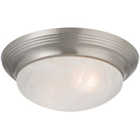 Boston Harbor 563116BN Ceiling Fixture, A19/CFL, 60/13 W, 2 Lamp